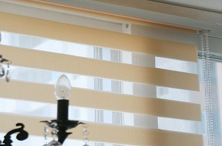 Twin blinds Vision Blinds zebra Blinds
